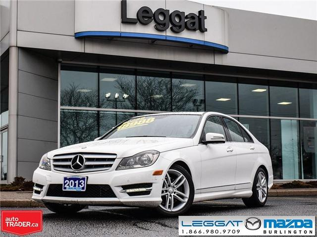 2013 Mercedes-Benz C-Class C300 4MATIC, LEATHER, MOONROOF (Stk: 191355A) in Burlington - Image 1 of 22