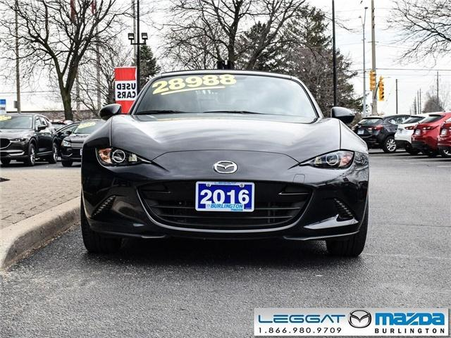 2016 Mazda MX-5 GT- AUTOMATIC, LEATHER, GPS, SOFT TOP (Stk: 195979A) in Burlington - Image 2 of 21