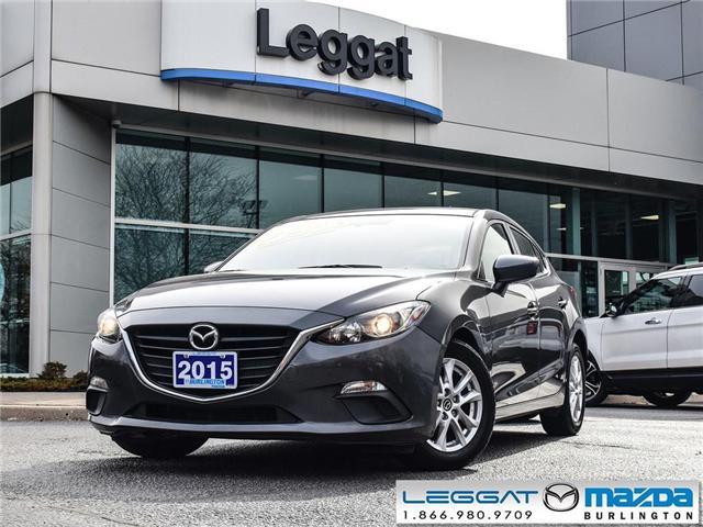 2015 Mazda Mazda3 GS-AUTOMATIC, BLUETOOTH, REAR CAMERA, A/C (Stk: 1868) in Burlington - Image 1 of 21