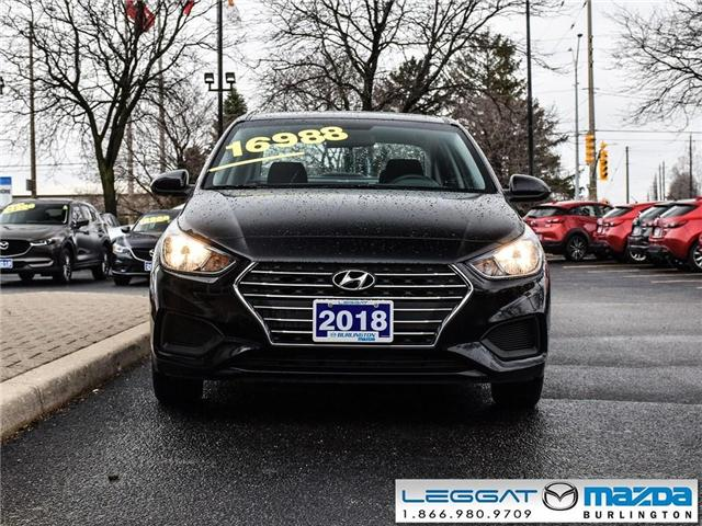 2018 Hyundai Accent GL- AUTOMATIC, A/C, BLUETOOTH, ALLOY WHEELS (Stk: 1874) in Burlington - Image 2 of 21