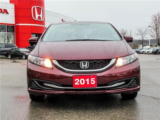 2015 Honda Civic EX (Stk: 3305) in Milton - Image 2 of 21