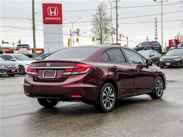 2015 Honda Civic EX (Stk: 3305) in Milton - Image 5 of 21