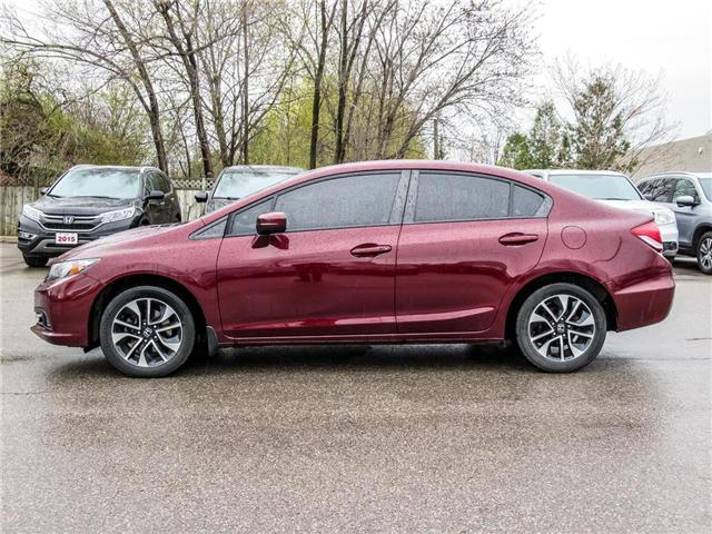 2015 Honda Civic EX (Stk: 3305) in Milton - Image 8 of 21