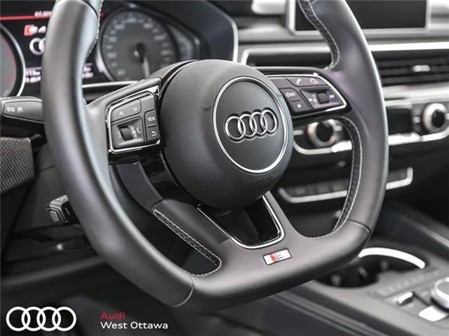 2018 Audi S4 3.0T Progressiv (Stk: 90102) in Nepean - Image 19 of 19