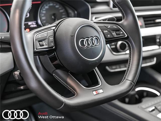 2018 Audi S4 3 0T Progressiv at $57388 for sale in Ottawa