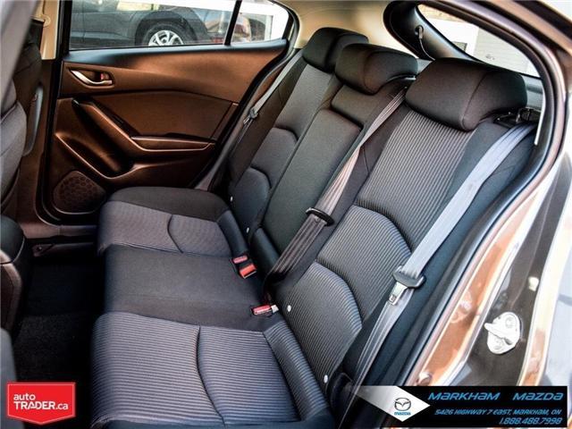 2015 Mazda Mazda3 GS (Stk: P1865) in Markham - Image 14 of 26
