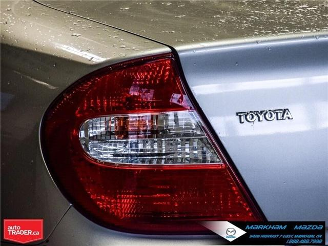 2004 Toyota Camry  (Stk: H190223A) in Markham - Image 4 of 22