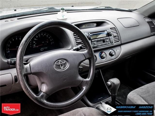 2004 Toyota Camry  (Stk: H190223A) in Markham - Image 9 of 22