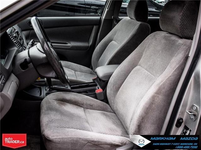 2004 Toyota Camry  (Stk: H190223A) in Markham - Image 10 of 22