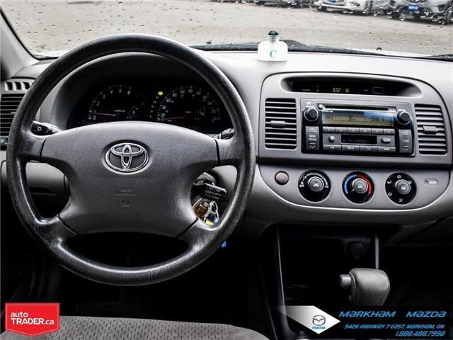 2004 Toyota Camry  (Stk: H190223A) in Markham - Image 17 of 22