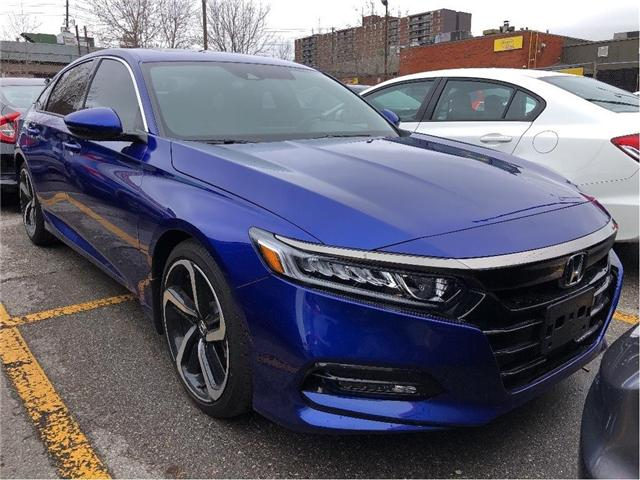 2018 Honda Accord Sport (Stk: 56224EAA) in Scarborough - Image 4 of 20