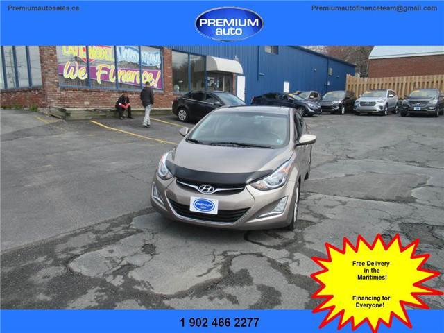 2014 Hyundai Elantra GLS (Stk: 534105) in Dartmouth - Image 1 of 24