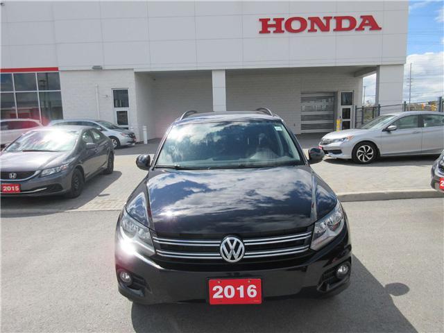 2016 Volkswagen Tiguan Comfortline (Stk: 26702LA) in Ottawa - Image 2 of 13