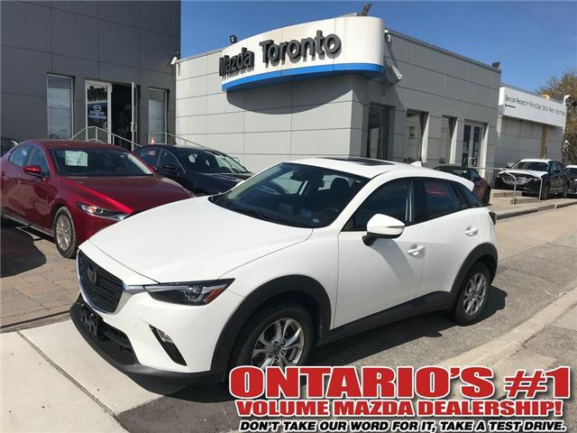 2019 Mazda CX-3 GS AWD/IACTIVE SENSE (Stk: DEMO81065) in Toronto - Image 1 of 17