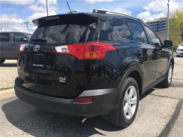 2014 Toyota RAV4 XLE (Stk: 1652W) in Oakville - Image 9 of 29