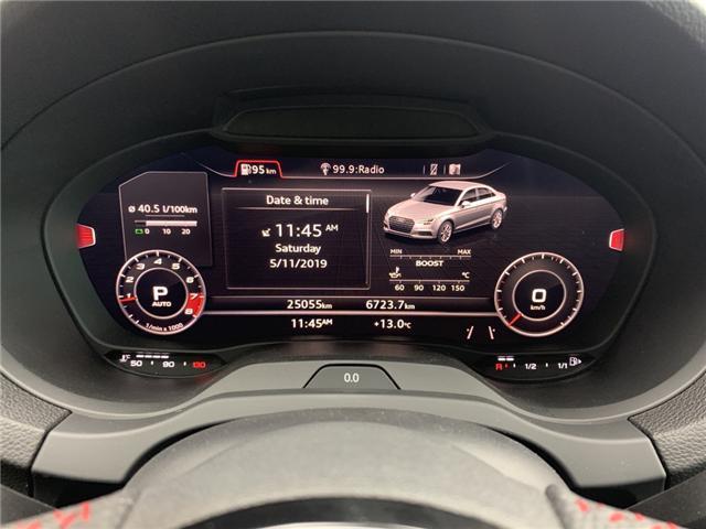 2018 Audi S3 2.0T Technik (Stk: L8532) in Oakville - Image 17 of 24