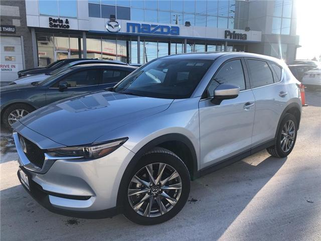 2019 Mazda CX-5 SIGNATURE, MANAGER'S DEMO (Stk: D19-110) in Woodbridge - Image 1 of 30