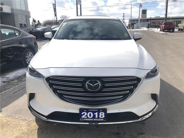 2018 Mazda CX-9 SIGNATURE, DEMO VEHICLE, GREAT SAVINGS (Stk: D18-770) in Woodbridge - Image 2 of 30