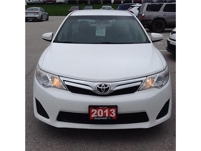 2013 Toyota Camry LE (Stk: ) in Owen Sound - Image 1 of 3