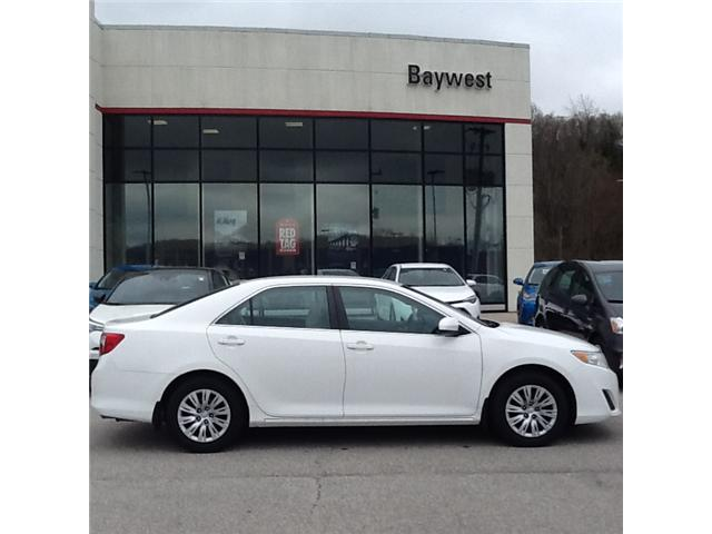 2013 Toyota Camry LE (Stk: ) in Owen Sound - Image 2 of 3