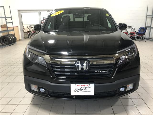 2017 Honda Ridgeline Black Edition (Stk: H1637) in Steinbach - Image 2 of 16