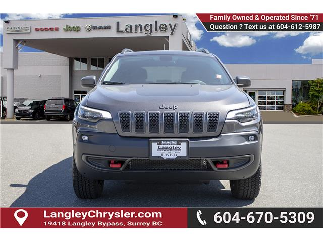 2019 Jeep Cherokee Trailhawk (Stk: K648637A) in Surrey - Image 2 of 27