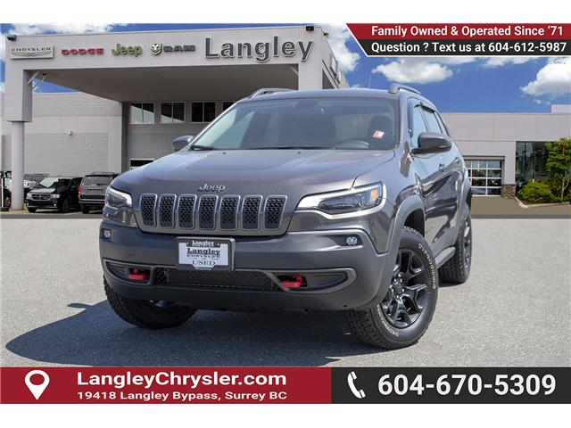 2019 Jeep Cherokee Trailhawk (Stk: K648637A) in Surrey - Image 3 of 27