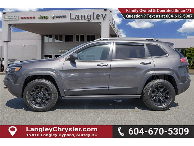 2019 Jeep Cherokee Trailhawk (Stk: K648637A) in Surrey - Image 4 of 27