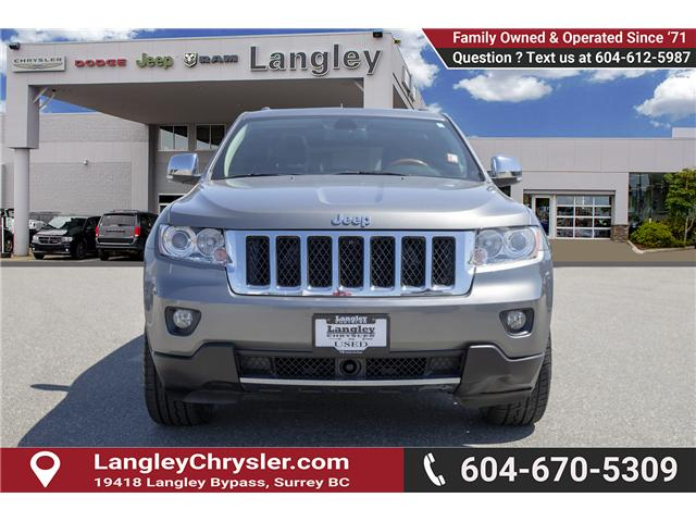 2013 Jeep Grand Cherokee Overland (Stk: K687604A) in Surrey - Image 2 of 27