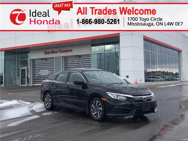 2016 Honda Civic EX (Stk: I190555A) in Mississauga - Image 1 of 15