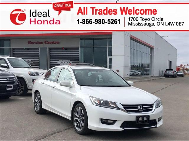 2015 Honda Accord Sport (Stk: I190376A) in Mississauga - Image 1 of 18
