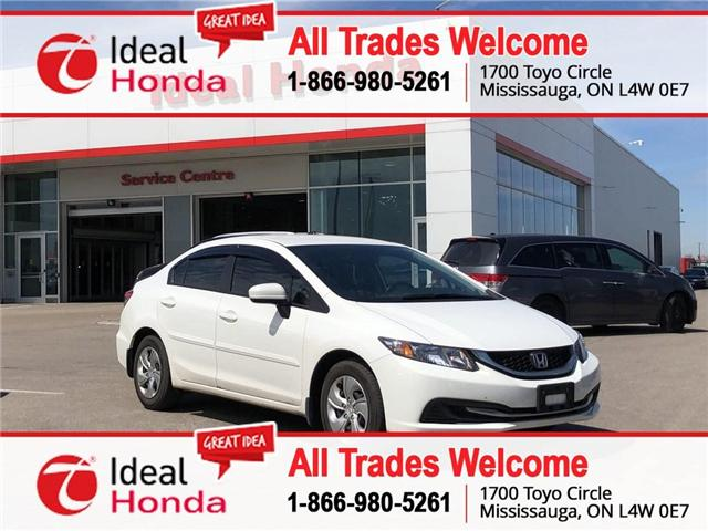 2015 Honda Civic LX (Stk: I190896A) in Mississauga - Image 1 of 18