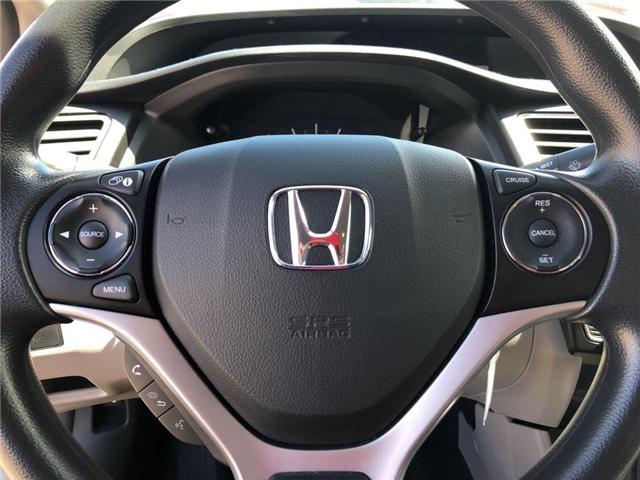 2015 Honda Civic LX (Stk: I190896A) in Mississauga - Image 12 of 18