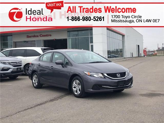 2015 Honda Civic LX (Stk: I190634A) in Mississauga - Image 1 of 19