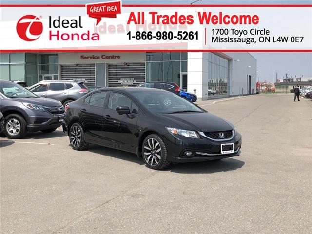 2015 Honda Civic Touring (Stk: I190215A) in Mississauga - Image 1 of 18