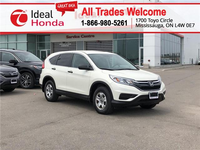 2016 Honda CR-V LX (Stk: I190962A) in Mississauga - Image 1 of 17