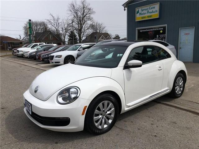 2014 Volkswagen The Beetle Comfortline (Stk: 18774) in Belmont - Image 1 of 18