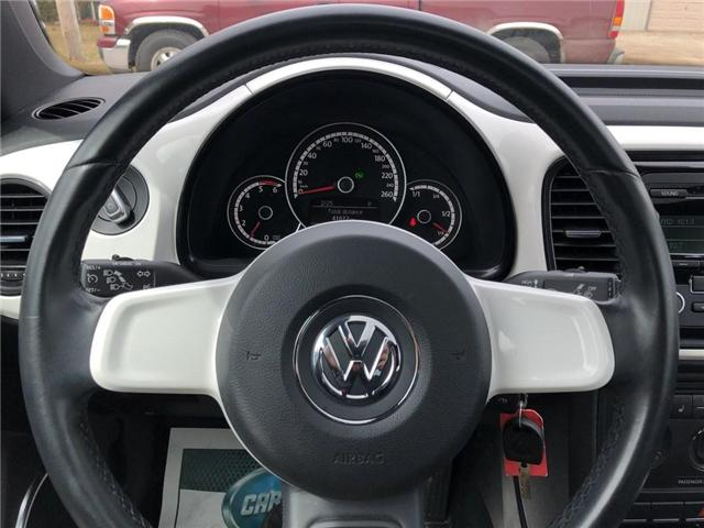 2014 Volkswagen The Beetle Comfortline (Stk: 18774) in Belmont - Image 17 of 18