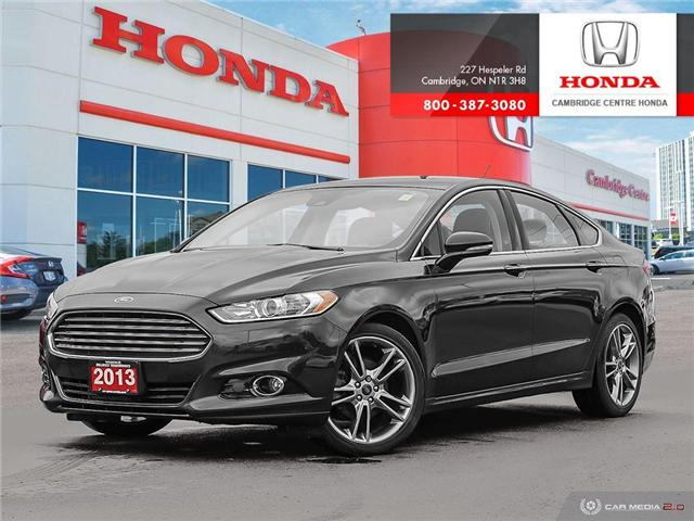 2013 Ford Fusion Titanium 3FA6P0D9XDR293724 19674A in Cambridge