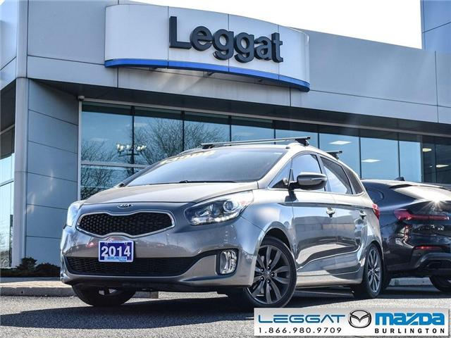 2014 Kia Rondo EX - LEATHER, MOONROOF, CLIMATE CONTROL HVAC (Stk: 1805A) in Burlington - Image 1 of 20