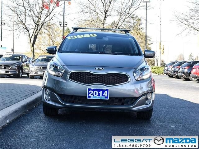 2014 Kia Rondo EX - LEATHER, MOONROOF, CLIMATE CONTROL HVAC (Stk: 1805A) in Burlington - Image 2 of 20