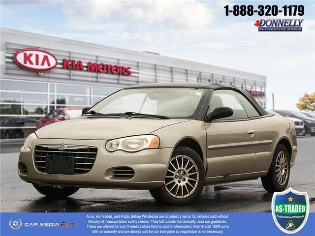2006 Chrysler Sebring Base (Stk: PBWKS270A) in Kanata - Image 1 of 27