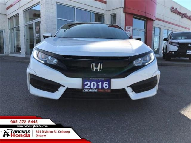 2016 Honda Civic LX (Stk: 19052A) in Cobourg - Image 2 of 14