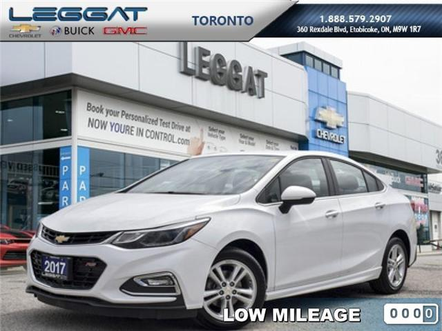 2017 Chevrolet Cruze LT Manual (Stk: 5740054A) in Etobicoke - Image 1 of 22