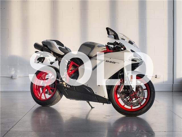 2011 Ducati 848 EVO (Stk: ZDM1XBMV2BB017038) in Woodbridge - Image 1 of 10