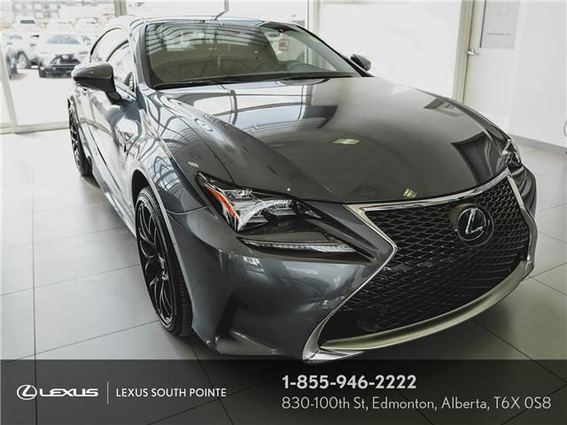 2018 Lexus RC 350 Base (Stk: L8D0668A) in Edmonton - Image 1 of 13