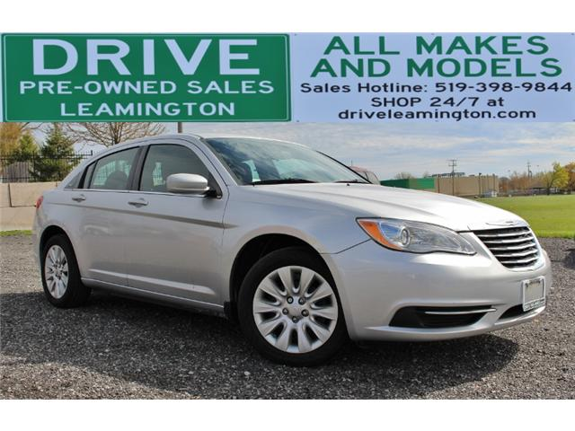 2012 Chrysler 200 LX (Stk: D0075) in Leamington - Image 1 of 22
