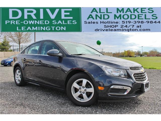 2016 Chevrolet Cruze Limited 2LT (Stk: D0009A) in Leamington - Image 1 of 34
