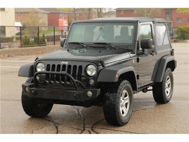 2016 Jeep Wrangler Sport (Stk: 1905201) in Waterloo - Image 1 of 22