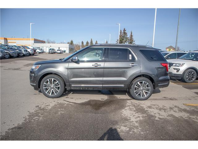 2019 Ford Explorer Platinum (Stk: K-323) in Okotoks - Image 2 of 5